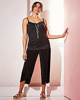 Joanna Hope Curved Hem Crop Trouser