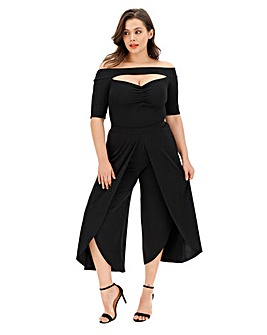 Joanna Hope Curved Hem Crop Trouser