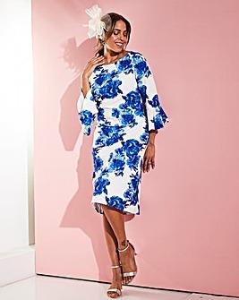 a2d52444d21 Joanna Hope Frill Sleeve Dress