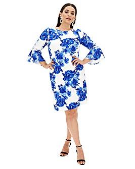 Joanna Hope Frill Sleeve Dress
