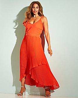 784babcd965 Joanna Hope Frill Pleat Dress