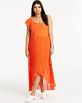 Joanna Hope Frill Pleat Dress