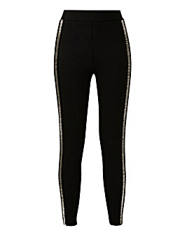 Joanna Hope Bead Trim Leggings