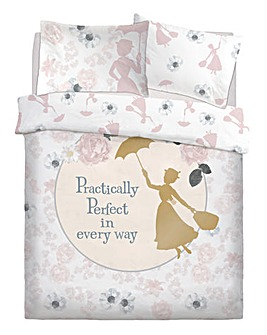 Mary Poppins Pretty Floral Panel Duvet
