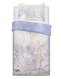 Frozen Rose Gold Panel Duvet