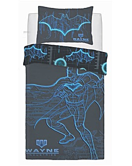 Batman Wayne Industries Panel Duvet