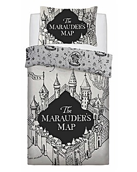 Maurauders Map Panel Duvet