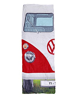 VW Single Sleeping Bag - Titan Red