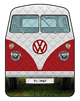 VW Quited Picnic Rug - Titan Red