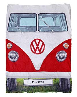 VW Double Sleeping Bag - Titan Red