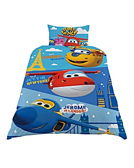 Superwings Destinations Single Duvet