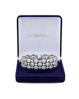 Jon Richard Halo Cluster Bracelet