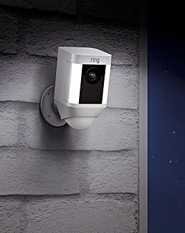 Ring Spotlight Battery Camera Duo Pack - White