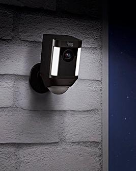 Ring Spotlight Battery Camera Duo Pack - Black