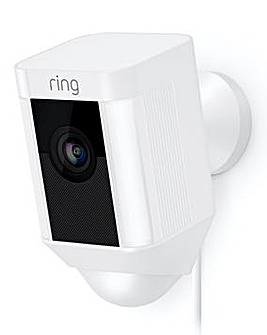 Ring Spotlight Wired Camera Duo Pack - White