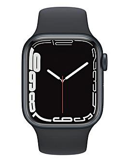 Apple Watch Series 7 GPS + Cellular, 41mm Midnight Sport Band