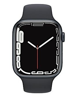 Apple Watch Series 7 GPS + Cellular 45mm Mid Case with Midnight Sport Band