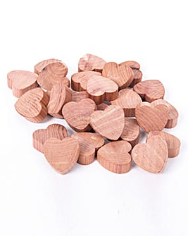 Cedar Hearts Pack of 50