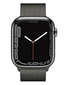 Apple Watch Series 7 GPS + Cellular, 45mm with Graphite Milanese Loop