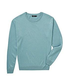 Duck Egg Crew Neck Jumper