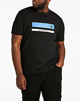 Luke Sport Galway Repeat Print T-shirt