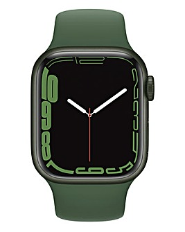 Apple Watch Series 7 GPS, 41mm with Clover Sport Band