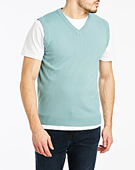 Duck Egg V-Neck Slipover