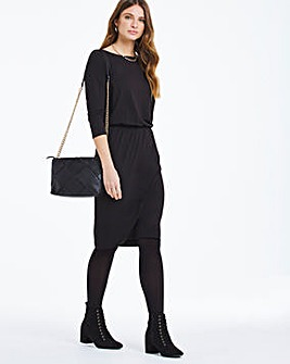 Blouson Top Bodycon Dress