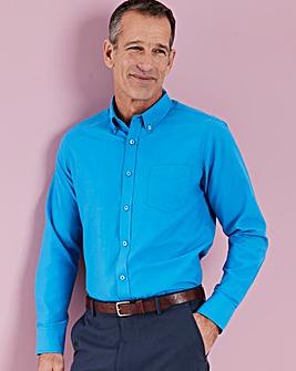 Azure Blue L/S Oxford Shirt