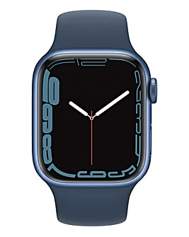 Apple Watch Series 7 GPS, 41mm with Abyss Blue Sport Band