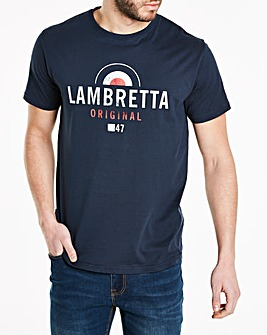 Lambretta Washed Graphic T-Shirt