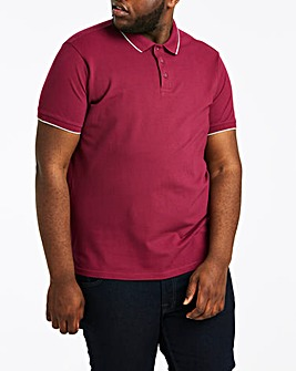 Magenta Stretch Tipped Polo Long