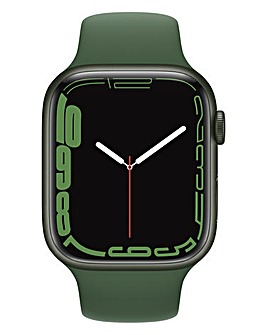 Apple Watch Series 7 GPS, 45mm with Clover Sport Band