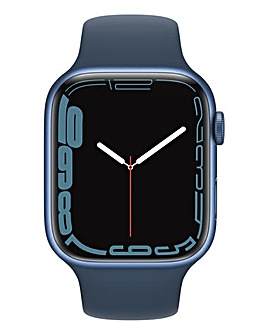 Apple Watch Series 7 GPS, 45mm with Abyss Blue Sport Band