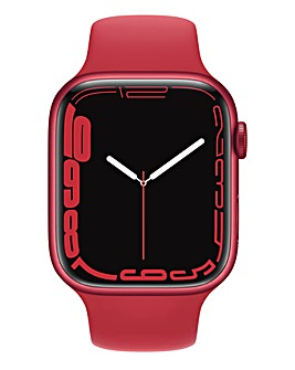 Apple Watch Series 7 GPS, 45mm with (PRODUCT)RED Sport Band