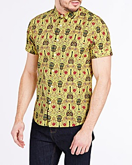 Joe Browns Mexican Skull Shirt Long