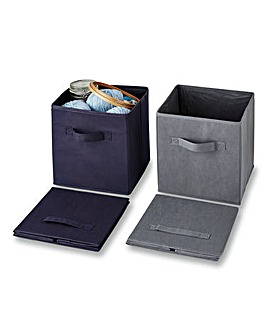 Medium Storage Boxes Set of 2