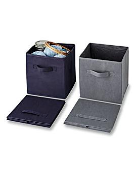 Medium Storage Boxes Set of 2