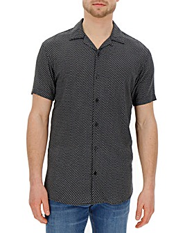Jack & Jones Premium Rusty Viscose Short Sleeve Shirt