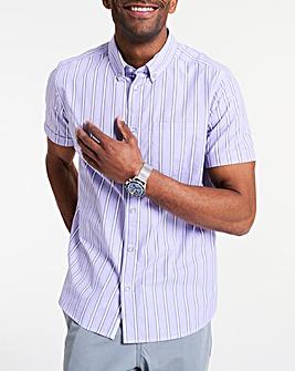 Short Sleeve Bengal Stripe Shirt