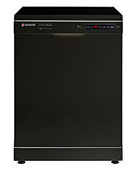 Hoover 16 Place Dishwasher Black