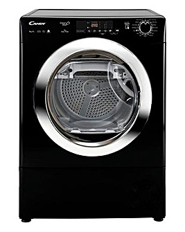 Candy 9kg Heat Pump Dryer Black/Chrome