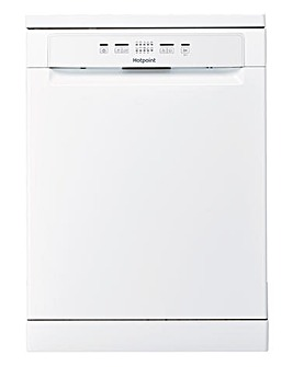Hotpoint Aquarius HFC2B19 Fullsize Dishwasher White