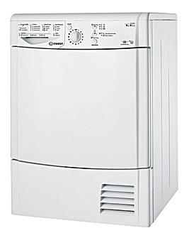 Indesit 8kg Condenser Dryer White