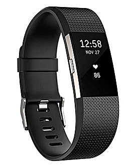 Fitbit Charge 2 Fitness Tracker Small