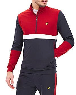 Lyle & Scott Half Zip Track Top