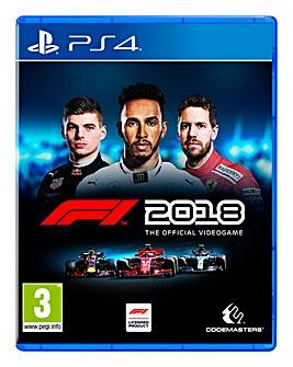 F1 Formula One 2018 - PS4