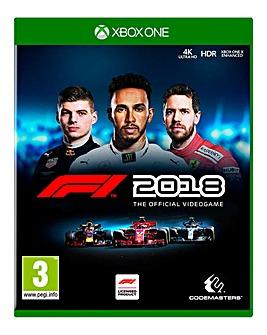 F1 Formula One 2018 - Xbox One