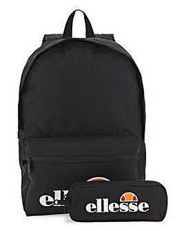 ellesse Rolby Backpack And Pencil Case