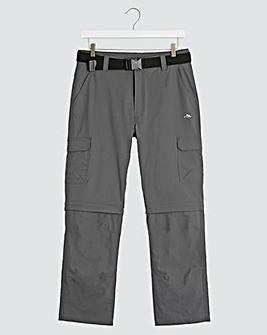 Snowdonia Zip Off Cargo Pants 31 in